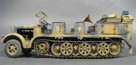 135 Tamiya Kanonenwagen Half Track Detallando El Sd Kfz 7 Half Track