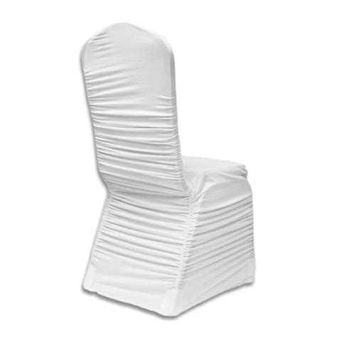 ruched chair covers chair cover banquet chair cover ruched spandex white