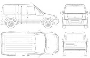 Ford Transit Connect Dimensions The Blueprints Blueprints Gt Cars Gt Ford Gt Ford