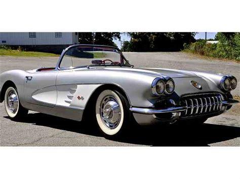 chevrolet corvette 1960 1960 chevrolet corvette for sale on classiccars 24
