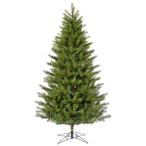 vickerman 26926 10 x 63 quot slim jack pine 850 multi color