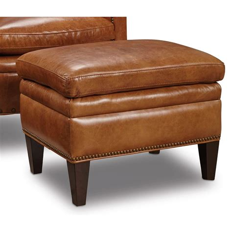 Hooker Furniture Club Chairs Traditional Ottoman With Traditional Ottoman