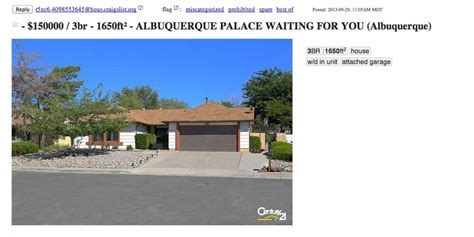 Breaking Bad House Address by Breaking Bad Home Listing On Craigslist Is Clever