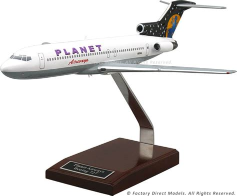 commercial model planes boeing 727 200 commercial model airplane