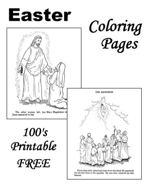 easter coloring pages religious education religious easter coloring pages