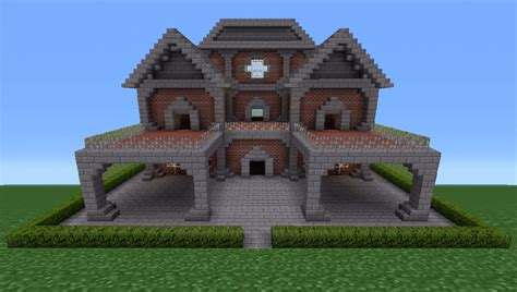 minecraft brick house minecraft tutorial brick house 6 youtube