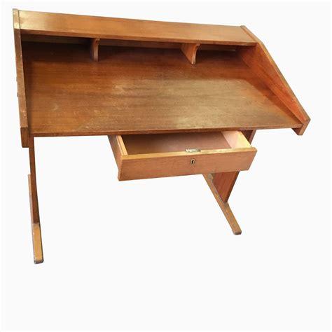 vintage desk for sale vintage wooden desk for sale at pamono