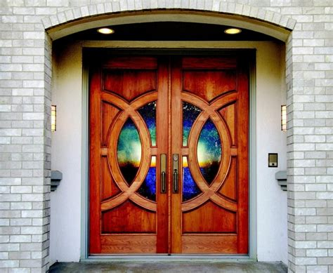 Leaded Glass Inserts For Front Doors   Terrific Stained