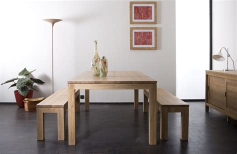 Dining Table Bench Seats Perth Ethnicraft Oak Dining Table