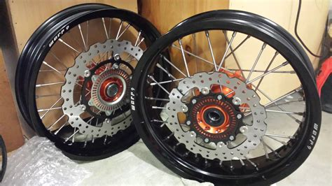 Ktm 690 Supermoto Wheels λ Tony S λ 2014 Ktm 690 Enduro To Supermoto