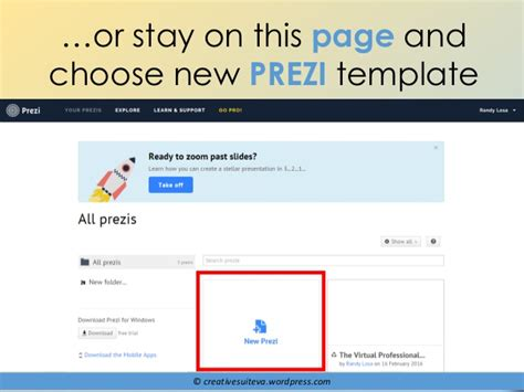How To Use Prezi A Beginner Guide How To Choose A Prezi Template