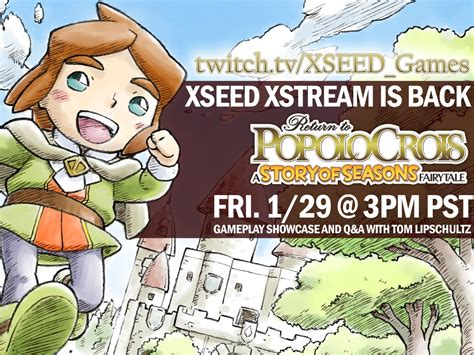 Kaset 3ds Return To Popolocrois A Story Of Seasons Fairytale return to popolocrois xseed livestream recording perfectly nintendo