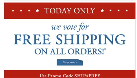 Free Shipping Coupon Pottery Barn pottery barn free shipping today only deal wise