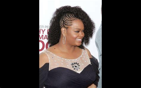 hairstyles on 1 side of head jill scott s 6 standout natural hair styles ebony