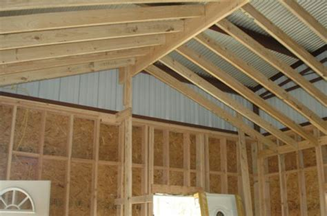 House Plans With Vaulted Ceilings Finishing The Barndominium Final Stages Of A 3 Year