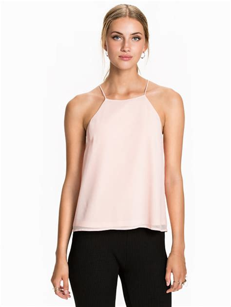 Swing Kleidung Damen by High Neck Swing Top Nly Trend Hellrosa Tops