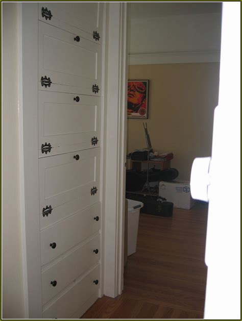 Closet Cabinet Doors Small Linen Closet Doors Home Design Ideas