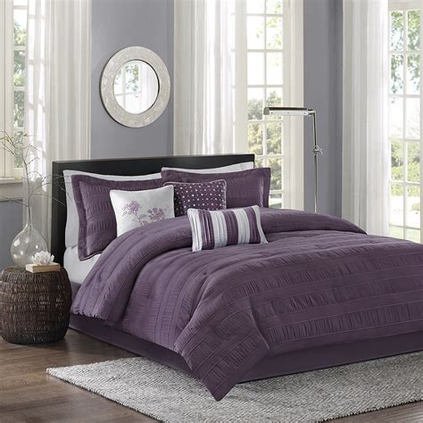 plum bedding madison park bedding sets ease bedding with style