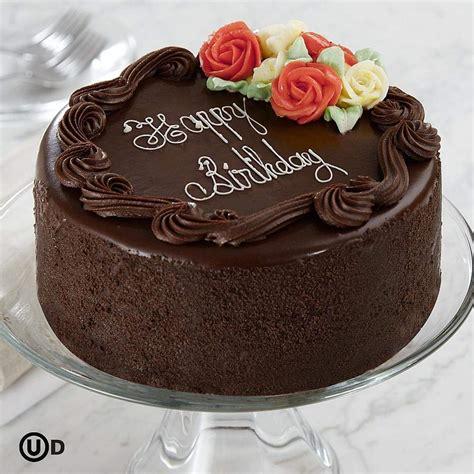 chocolate birthday cake images birthday cake 6 quot three layer chocolate happy birthday cake