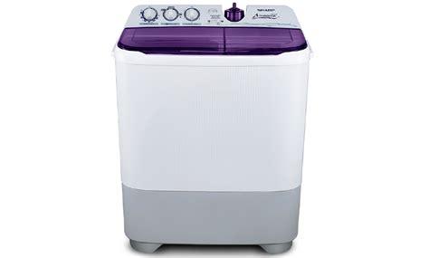 Mesin Cuci Sanyo Hemat Listrik mesin cuci es t85cr bk si hemat listrik dari sharp