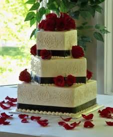Wedding cake designs red black and white newweddingdresstrend com