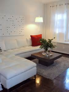 Decorating Ideas For Living Room With Sofas Astounding White Leather Sectional Sofa Decorating Ideas