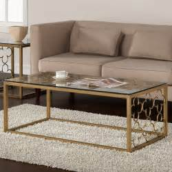 coffee table extraordinary gold glass coffee table in