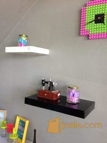 Rak Floating rak dinding floating shelf fs quot 60cm bogor jualo