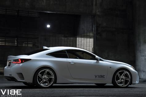 custom lexus rc f vibe motorsports has a pair of rims for the lexus rc350 f