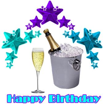 happy birthday glitter plaatjes en animaties bewegende