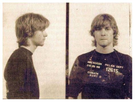 kurt cobain mug shot  smoking gun