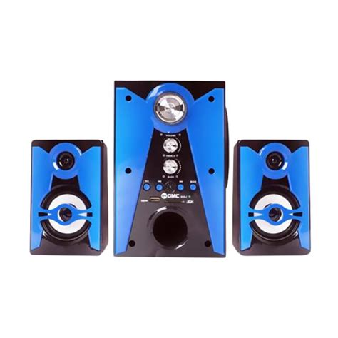 Speaker Multimedia Gmc 887a jual gmc multimedia speaker 888j harga kualitas terjamin blibli