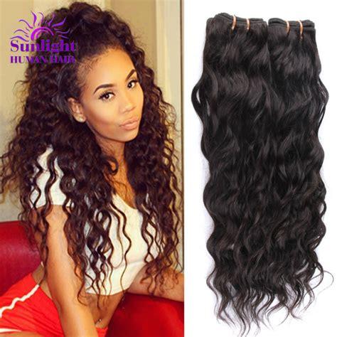weave wet wavy aliexpress com buy brazilian virgin hair 4 bundles