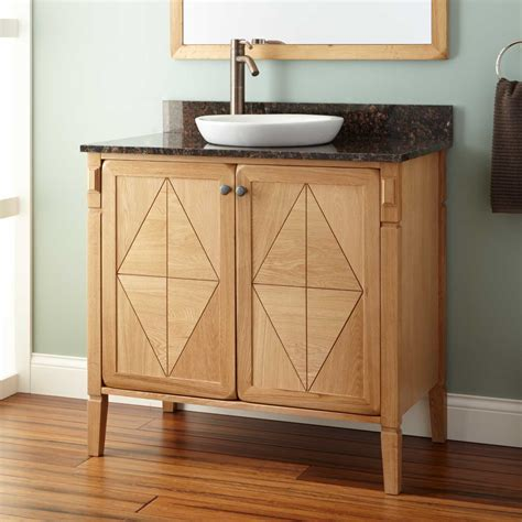 semi recessed bathroom 36 quot daryl vanity for semi recessed natural