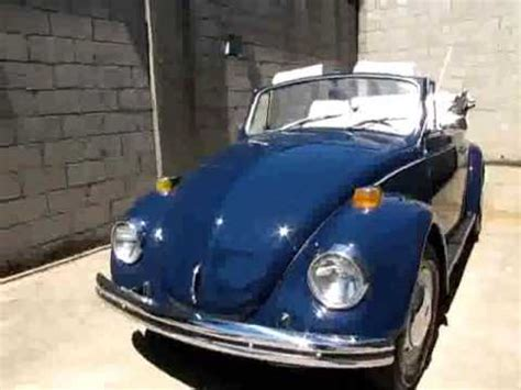 blue volkswagen beetle 1970 beautiful blue 1970 vw bug convertible youtube