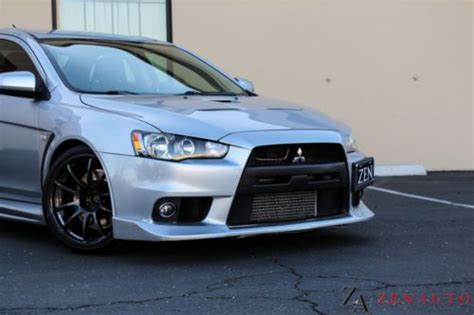 mitsubishi evo gsr custom purchase used 2008 custom mitsubishi lancer evolution evo