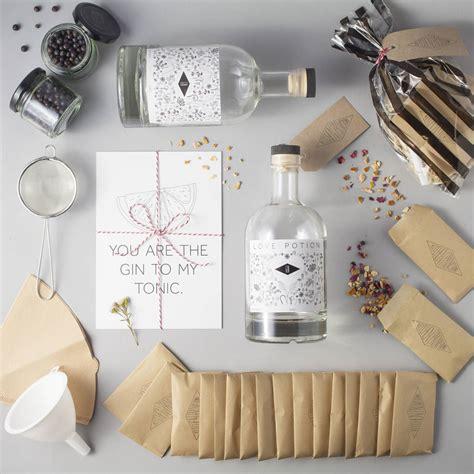 Wedding Gift Gin by Bespoke Wedding Gin Gift Kit By Kitchen Provisions