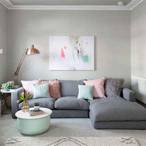 Grey Wall Living Room Design by 23 Grey Living Room Ideas For Gorgeous And Spaces