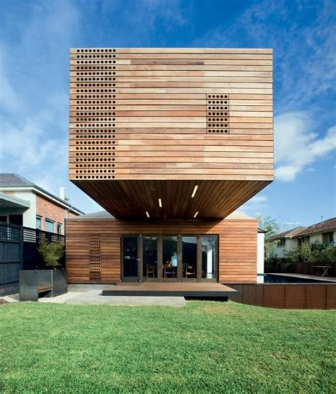 design house addition modern timber home cool wood addition