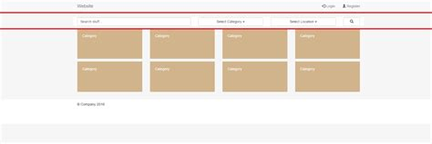 bootstrap layout right align html bootstrap layout creates weird padding and