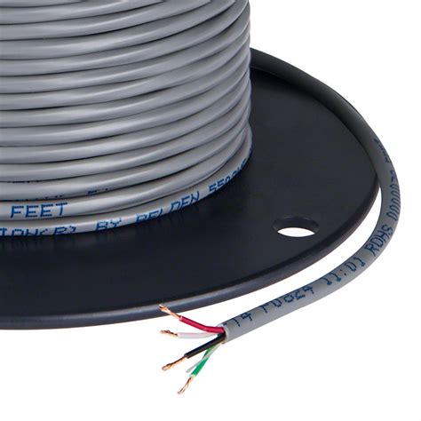 wire power pvc jacketed 22 wire four conductor power wire
