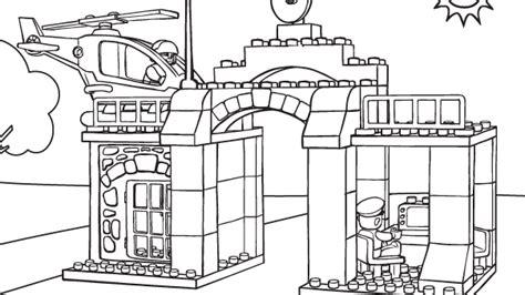 Station Coloring Page lego 15 malvorlagen