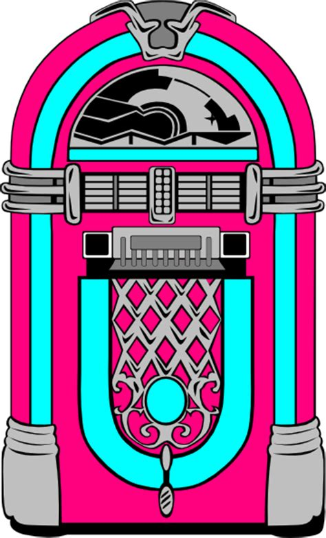 jukebox clipart pink and blue jukebox clip at clker vector clip
