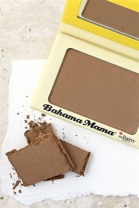 Thebalm Bahama the balm bahama bronzer bronzer powder brown eye shadow 20 00