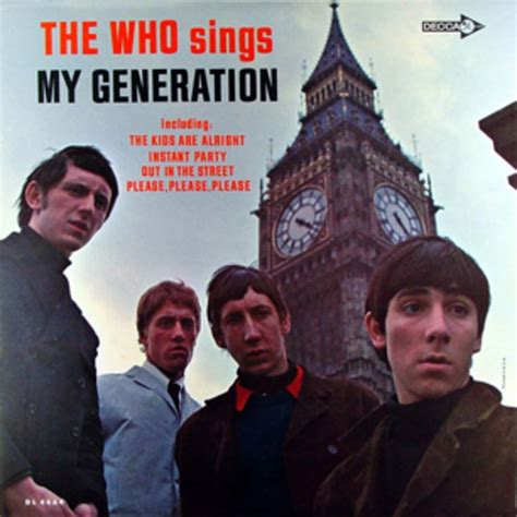 who sings my the who sings my generation 100 best debut albums of