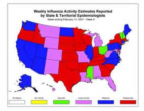 flu map us cdc influenza flu weekly report influenza summary