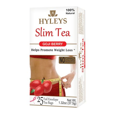 Everslim Tea Slimming 1 goji berry tea lose weight with hyleys tasty blends