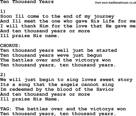 testo thousand years part for a thousand years part 2 lyrics