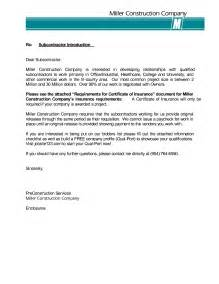 Business Letter Sample Introduction Company company introduction letter sample format cover letter templates