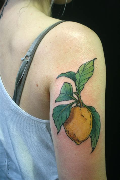 lemon tattoo taken at lemon pictures to pin on tattooskid